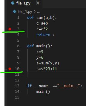 vs code logpoint related